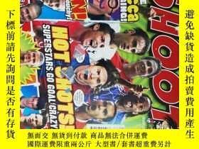 二手書博民逛書店SHOOT罕見MAGAZINE 2018 01 射門足球體育有海