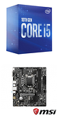 【自組DIY兩件組I5】Intel i5-10400+微星 H510M BOMBER