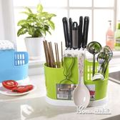 大號廚房置物架 塑料廚房收納儲物瀝水架筷子〖Korea時尚記〗igo