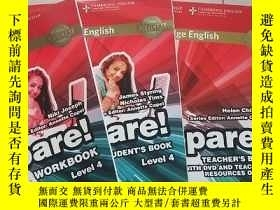 二手書博民逛書店Prepare!罕見Level 4 【WORKBOOK】【STUDENT'S BOOK】【TEACHER'S BO