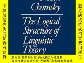 二手書博民逛書店The罕見Logical Structure Of Linguistic TheoryY362136 N. C