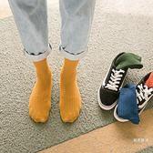 長筒襪男襪子男棉質中筒襪防臭吸汗運動男士棉襪男生長襪潮流正韓春夏季5雙