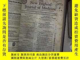 二手書博民逛書店THE罕見NEW ENGLAND JOURNAL OF MEDICINE 1978 VOL 298 JAN-MAR