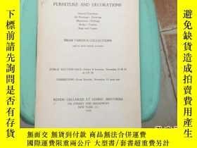 二手書博民逛書店美國紐約金貝拍賣行罕見1945年11月份黑白英文拍賣圖錄一冊(內