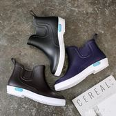 雨靴 低幫雨鞋男潮夏季短筒洗車釣魚廚房工作套鞋 QX5029【棉花糖伊人】