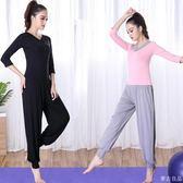 瑜珈服健身房運動套裝女跑步初學莫代爾新款短袖專業瑜伽服夏  麥吉良品