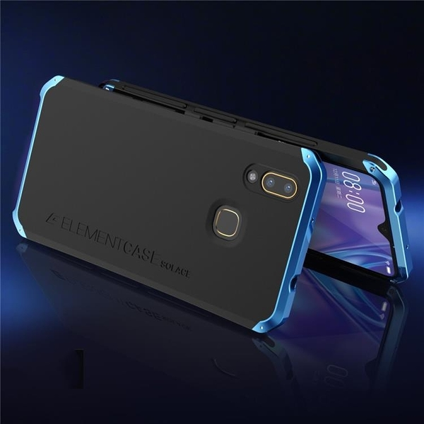 VIVO V9 Y85 Y97 金屬手機殼 SOLACE TPU 金屬邊框 個性創意保護套