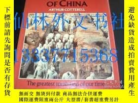 二手書博民逛書店【罕見】秦朝 THE FIRST EMPEROR OF CHIN