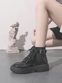 短靴 英倫風馬丁靴女夏季薄款春秋季單靴年百搭短靴子潮ins酷 芊墨左岸