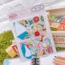 迪士尼悠遊卡貼票卡貼紙 愛麗絲夢遊仙境 妙妙貓 愛麗絲公主 悠遊卡貼票卡貼紙 COCOS DS025