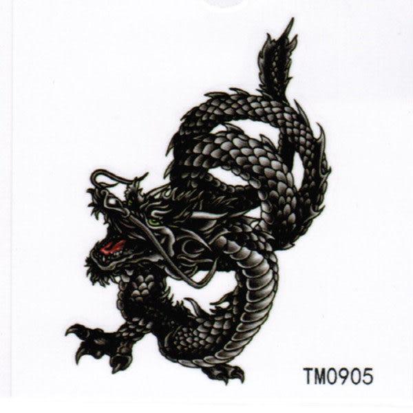 薇嘉雅      龍 紋身貼紙 TM0905