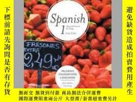 二手書博民逛書店Foundations罕見Spanish 1Y410016 Cathy Holden ISBN:978113