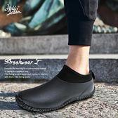 雨靴 牛勃朗雨鞋男低幫短筒潮雨靴水鞋膠鞋戶外春夏洗車防水 非凡小鋪