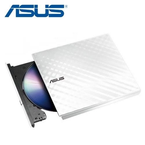 全新 ASUS SDRW-08D2S-U 外接燒錄機 白