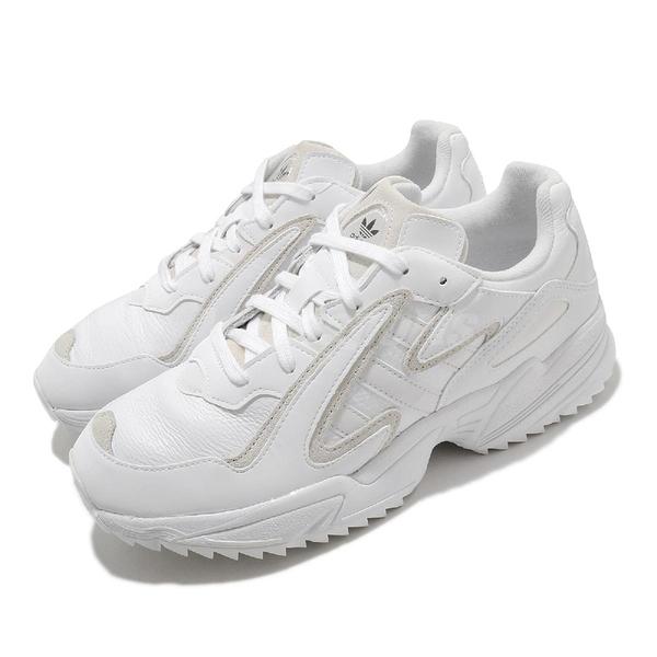 【五折特賣】adidas 休閒 Yung 96 Chasm Trail 白 米 男鞋 女鞋 老爹鞋 【ACS】 EF8976