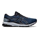 Asics Gt-1000 9 [1011A770-403] 男鞋 運動 休閒 慢跑 路跑 緩衝 支撐 亞瑟士 藍 黑