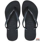Havaianas 哈瓦仕 新竹皇家 freedom 黑色 細帶 珠光  沙灘 女鞋 No.H1108