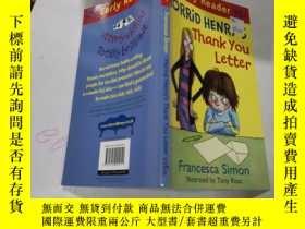 二手書博民逛書店horrid罕見henry s thank you letter:可怕的亨利的感謝信Y212829