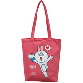 Kitty&Line肩背袋-兔兔(中)【愛買】