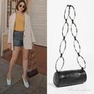 包包小眾新款潮個性定制圓筒包金屬圓環包女小包 黛尼時尚精品