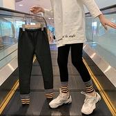 女童打底褲春秋薄款兒童褲子洋氣外穿2021新款春裝大童裝女孩長褲 韓語空間