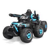 遙控坦克 兒童玩具車遙控坦克可射水越野遙控汽車男孩電動遙控車 卡菲婭