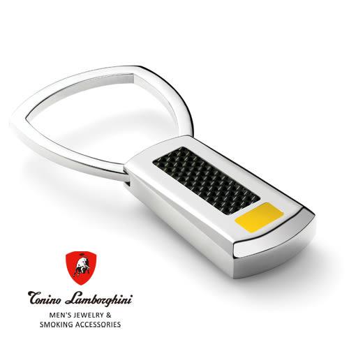 義大利 藍寶堅尼精品 -  IL PRIMO Collection 鑰匙圈(黃色) ★ Tonino Lamborghini 原廠進口 時尚必備行頭 ★