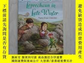 二手書博民逛書店Leprechaun罕見in Late WinterY11195