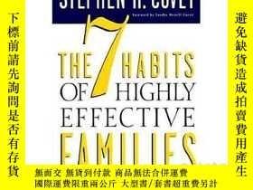 二手書博民逛書店高效能家庭的七個習慣罕見英文原版 The 7 Habits of