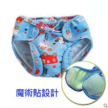 [現貨+預購]兒童泳褲寶寶三角褲嬰兒男童女童卡通可愛防漏尿防水遊泳褲0-4歲