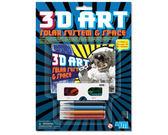 【4M】美勞創作系列-3D立體太空畫冊 3D ART Space World 00-03637