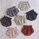 女童短褲 純棉花苞面包短褲女寶寶夏裝女童嬰兒外穿大PP褲碎花洋氣衣服-Ballet朵朵
