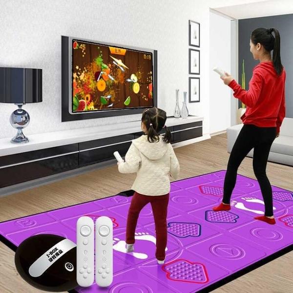 酷舞PU跳舞毯無線雙人電視電腦接口跳舞機家用體感跑步兒童游戲機