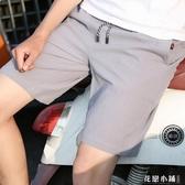 超薄款五分短褲男土百搭半截中褲潮流5六分韓版半褲3休閒褲