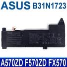 ASUS B31N1723 原廠電池 A570ZD F570 F570ZD FX570 FX570UD K570U K570UD K570ZD R570 R570ZD R570UD X570