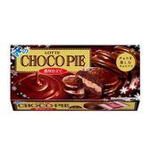 LOTTE 濃厚巧克力派(6顆裝) 192g【愛買】