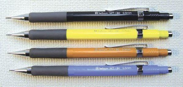 白金牌 PLATINUM 書寫、製圖兩用自動鉛筆(MT-100)