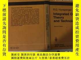 二手書博民逛書店Integrated罕見Optics:Theory and Te