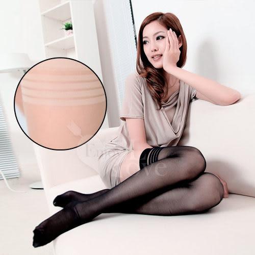 【滿額免運費】 【獨愛情趣用品】性感連身褲襪 fashion 超彈性透明性感長筒絲襪﹝膚色款﹞