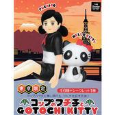 小全套5款【日本正版】杯緣子 x 凱蒂貓 東京限定 盒玩 擺飾 GOTOCHI KITTY - 004180