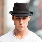 紳士帽 新款時尚紳士帽爵士帽韓版潮男女英倫復古小禮帽休閒舞臺牛仔帽子 薇薇