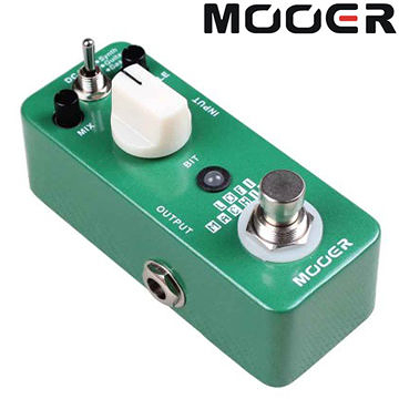 ★集樂城樂器★Mooer Lofi Machine 採樣精度效果器【Sample Reducing Pedal】MREG-LM