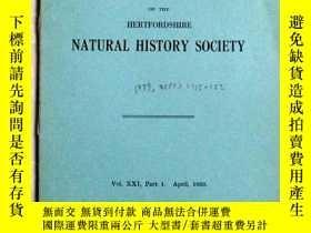 二手書博民逛書店民國1939年外文資料:SOME罕見HERTFORDSHIRE