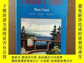 二手書博民逛書店Recommended罕見Country Inns (West Coast) - California - Ore