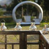 一件免運八九折促銷-翰文唯美小吊燈時尚創意戶外防水LED太陽能燈光控感應草坪庭院燈
