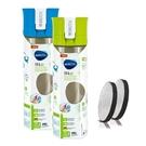 Brita 隨身濾水瓶兩件組0.6L 含濾芯片4片 - 綠色+藍色