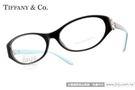Tiffany&CO.光學眼鏡 TF2067B 8001 (晶瑩黑) 典雅細緻水鑽雛菊款 # 金橘眼鏡