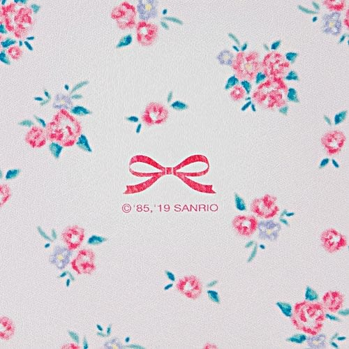 Sanrio 兔媽媽方型隨身雙面鏡(小花)★funbox★_849944