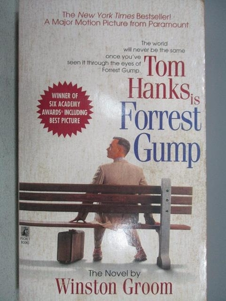 【書寶二手書T3/原文小說_MCG】Tom Hanks is Forrest Gump_Winston Groom