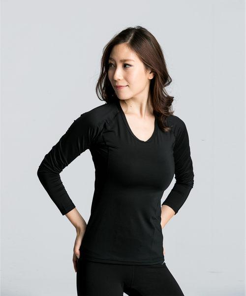 【Fitwell】家熱暖活衣-女款/遠紅外線抗靜電保暖衣/發熱衣 台灣製造